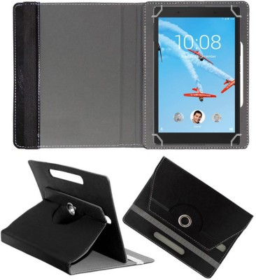 Fastway Book Cover for Lenovo Tab 4 8 inch(Black, Cases with Holder)