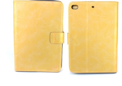 "Fashion Flip Cover for Apple iPad Mini/Apple ipad Mini 2/Apple ipad Mini 3/Apple ipad Mini 4 -7.9""(Gold)"
