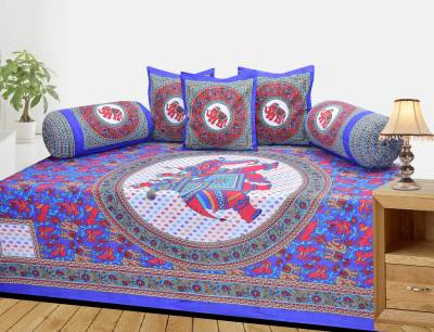 Supreme Home Collective Cotton Abstract Diwan Set