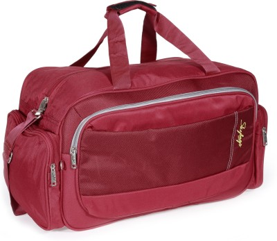 SKYBAGS 21 inch/53 cm Cardiff  E  Duffel With Wheels  Strolley  Red SKYBAGS Duffel Bags