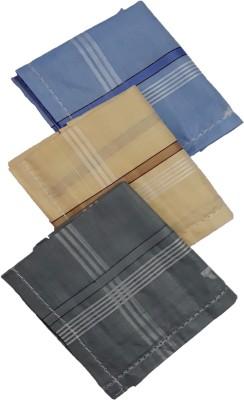 Modish vogue Set of 3 coloured handkerchiefs Handkerchief(Pack of 3)
