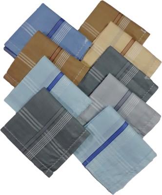 Modish Vogue Set of 9 coloured handkerchiefs Handkerchief(Pack of 9)