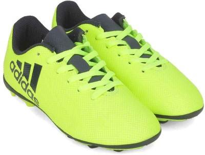 ADIDAS Boys Lace Football Shoes(Yellow)