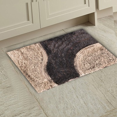 m g's real decor Polyester Door Mat door mat(Multicolor, Free)  available at flipkart for Rs.320
