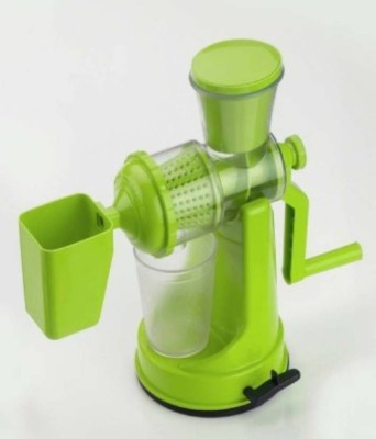 Alpyog Hand Juicer Grinder Fruit and Vegetable Juicer Green 0 W Juicer Green, 1 Jar
