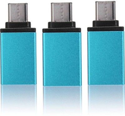BRPEARl Micro USB OTG Adapter(Pack of 3)