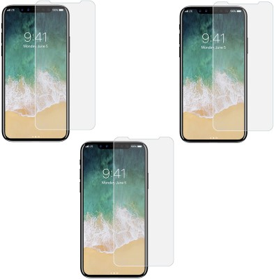 Mocell Tempered Glass Guard for Apple iPhone X(Pack of 3) at flipkart