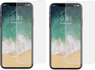 Mocell Tempered Glass Guard for Apple iPhone X(Pack of 2) at flipkart
