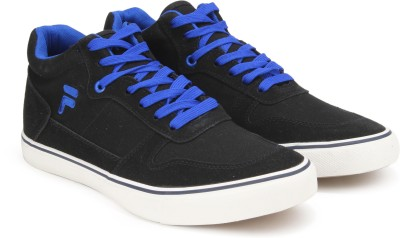 FILA TUCKER MID ANKLE CANVAS For Men Black FILA Casual Shoes