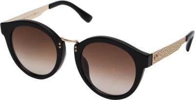 Jimmy Choo Cat-eye Sunglasses(Brown) at flipkart