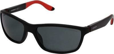 Carrera Wrap-around Sunglasses(Grey) at flipkart