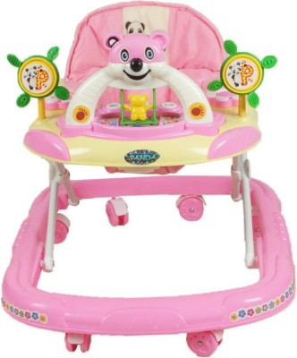 Abasr Musical Activity Walker(Pink)
