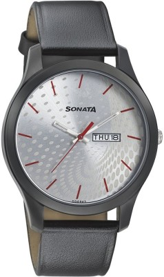Sonata 77063NL02  Analog Watch For Men
