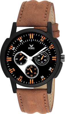 Fogg 1101-BR  Analog Watch For Men
