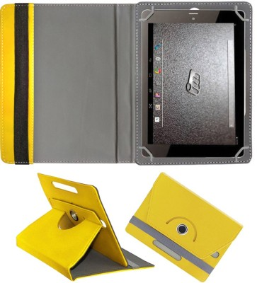 Fastway Book Cover for Micromax P650 Tab(Yellow, Cases with Holder)