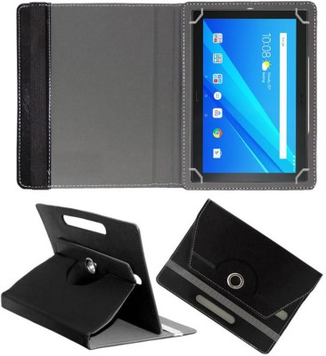Fastway Book Cover for Lenovo Tab 4 Plus 10.1 inch(Black, Cases with Holder)