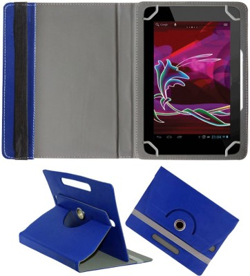 Fastway Book Cover for Penta Bsnl 83Aaq1 Dual Sim(8 Inch, 8Gb, Wi-Fi+ 3G)(Blue, Cases with Holder)