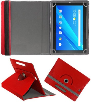 Fastway Book Cover for Lenovo Tab 4 Plus 10.1 inch(Red, Cases with Holder)