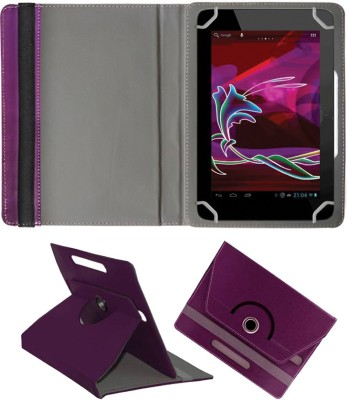 Fastway Book Cover for Penta Bsnl 83Aaq1 Dual Sim(8 Inch, 8Gb, Wi-Fi+ 3G)(Purple, Cases with Holder)