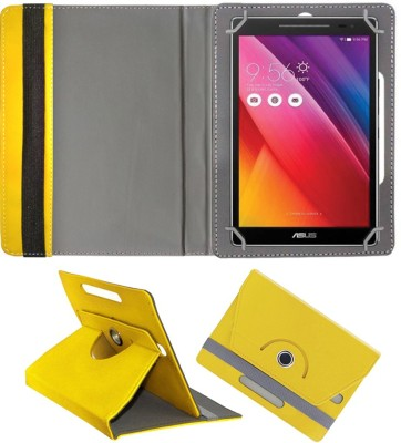 Fastway Book Cover for Asus ZenPad S 8.0 Z580C Tablet(Yellow, Cases with Holder)