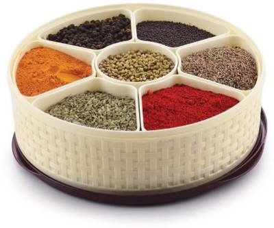 SND Spice Box / Masala Dabba 1 Piece Spice Set(Plastic)  available at flipkart for Rs.525