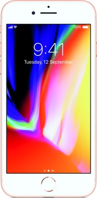Apple iPhone 8 (Gold, 64 GB) at flipkart