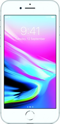 Apple iPhone 8 (Silver, 256 GB) at flipkart