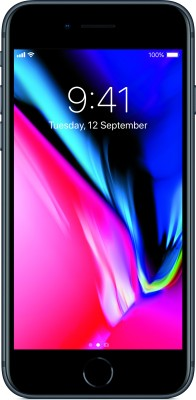 Apple iPhone 8 (Space Grey, 64 GB) at flipkart