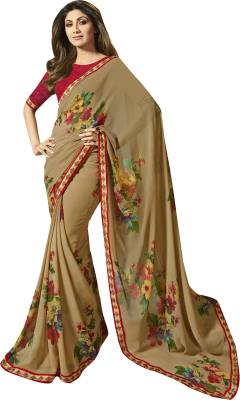Shaily Retails Self Design Fashion Georgette Saree