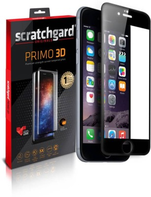 Scratchgard Edge To Edge Tempered Glass for Apple iPhone 5 - Full Cover(Pack of 1)