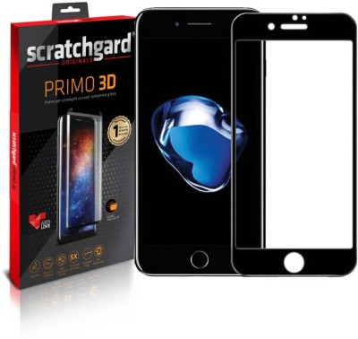 Scratchgard Edge To Edge Tempered Glass for Apple iPhone 8 Plus(Pack of 1)