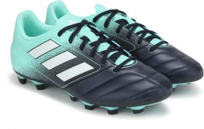 Adidas ACE 17.4 FXG Football Shoes For Men Blue