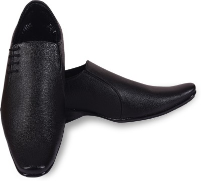 ROAD STAG Men's Derby formal Derby For Men(Black)