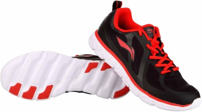 Li-Ning Running Shoes For Men(Black, Red)  available at flipkart for Rs.992