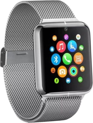 SYL Galaxy Ace silver Smartwatch(Silver Strap Regular) at flipkart