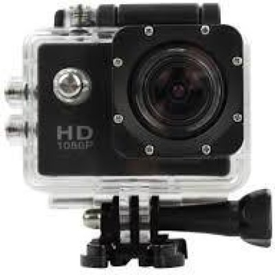 Totta ACTION 1080P UHD TOTTA 1080P ULTRA HD WATER PROOF ACTION CAMERA Sports and Action Camera(Multicolor 12 MP)