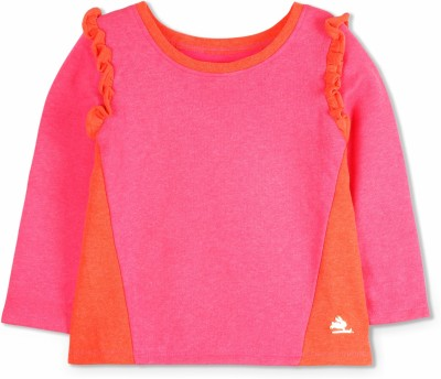Cherry Crumble California Full Sleeve Solid Girls Sweatshirt at flipkart