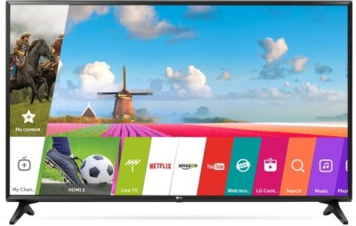 LG 123cm (49 inch) Full HD LED Smart TV(49LJ554T) at flipkart