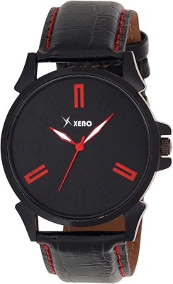 Xeno ZD00601 Leather Chronograph New Look Fashion Stylish Titanium Men Watch  - For Boys