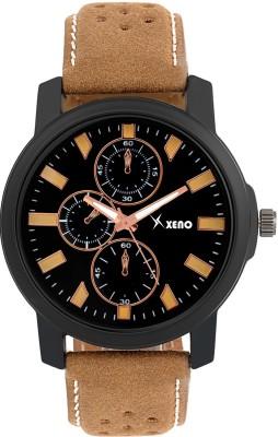 Xeno ZD00604 Leather Chronograph New Look Fashion Stylish Titanium Boys & Girls Watch  - For Men