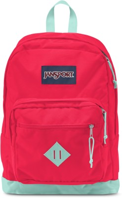 JanSport City Scout Fluorescent Red 31 L Backpack(Red)