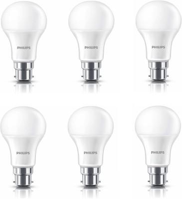 Philips 14 W Standard B22 LED Bulb(White, Pack of 6) at flipkart