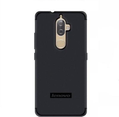 Coverage Back Cover for Lenovo K8 Plus(Venom Black, Waterproof, Rubber)