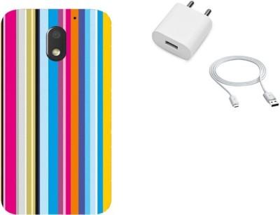 Artistque Cover Accessory Combo for Motorola Moto E3 Power(Multicolor)