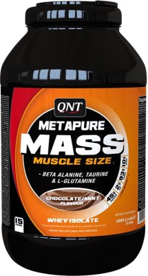 QNT Metapure Mass Weight Gainers(2.5 kg, Chocolate/Mint)