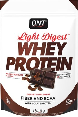 QNT Light Digest Whey Protein(500 g, Balgian chocolate)  available at flipkart for Rs.1449