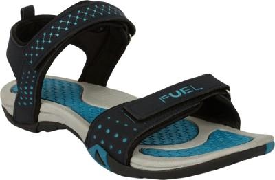 c110e4fc7fa674 25% OFF on Fuel Women Navy Blue Sports Sandals