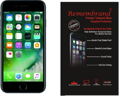 Remembrand Tempered Glass Guard for Apple iPhone 6, Apple iPhone 6S Plus F&B(Pack of 1)