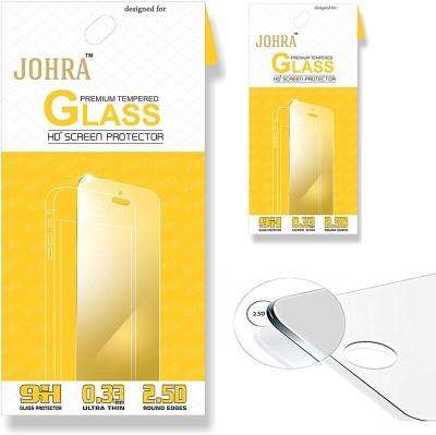 Johra Tempered Glass Guard for Motorola Moto E4 Plus(Pack of 2)