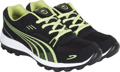 Aero Power Play Running Shoes For Men(Black)  available at flipkart for Rs.499